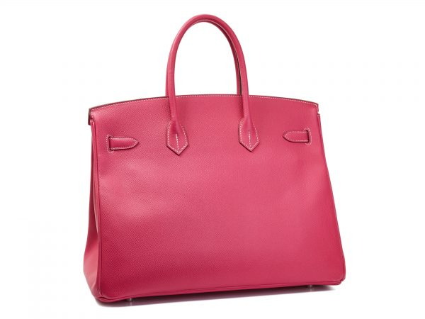 Hermes Birkin 35, Epsom Leather, Rose Tyrien Color