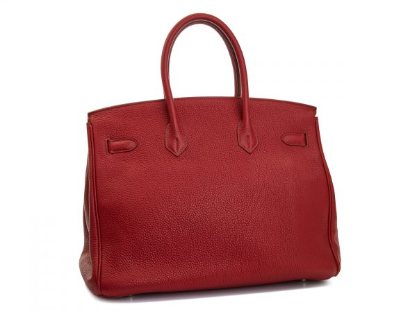 Hermes Birkin 35 rouge