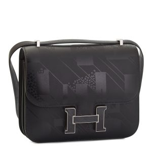 Hermes Constance Mini III,Limited Edition,Black