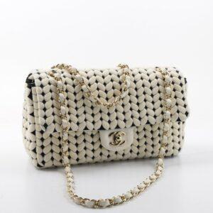 Chanel Timeless/ Classique, Coton Blanc