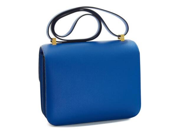 Hermès Constance III 24, cuir Bleu Hydra