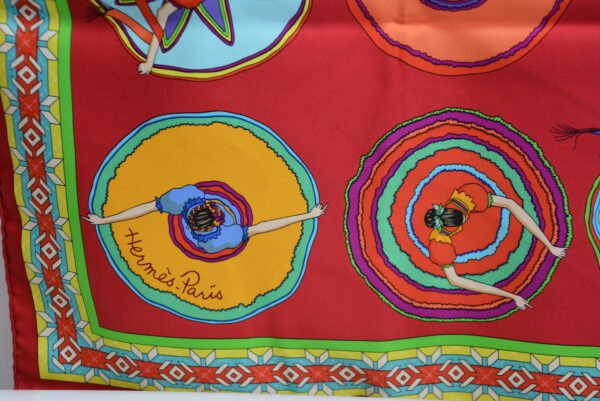 Foulard Hermes en soie Belles du Mexique