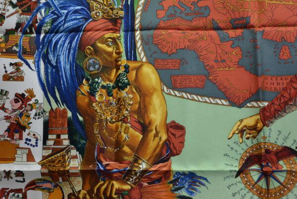 Foulard Hermes Les Amériques