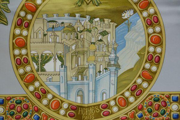 Foulard Hermès Le triomphe du paladin
