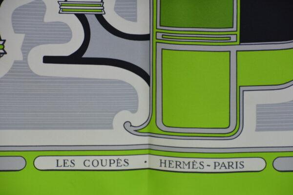 "Foulard Hermès "" Les Coupès"""