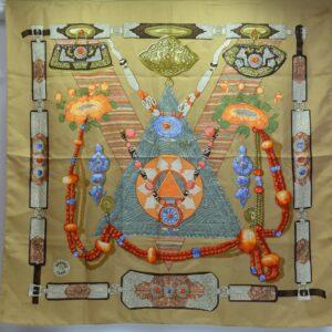 """Foulard Hermès """"Tibet"""""""
