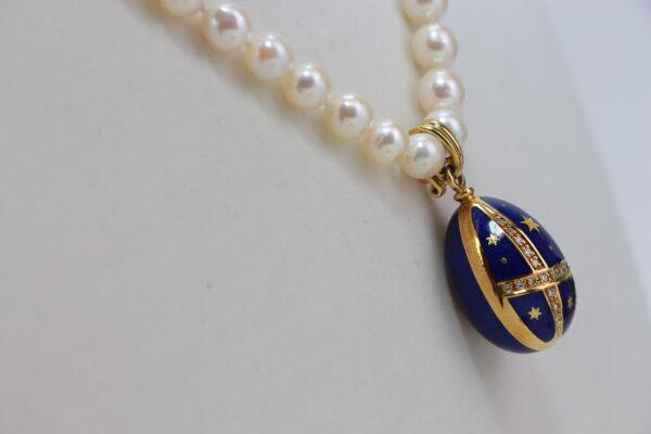 Pendentif émaillé Fabergé