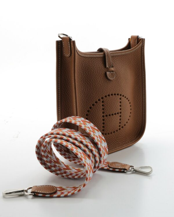 Hermes Mini Evelyne marron