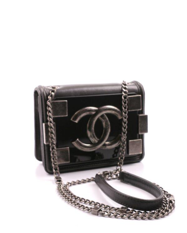 Chanel Lego Mini noir