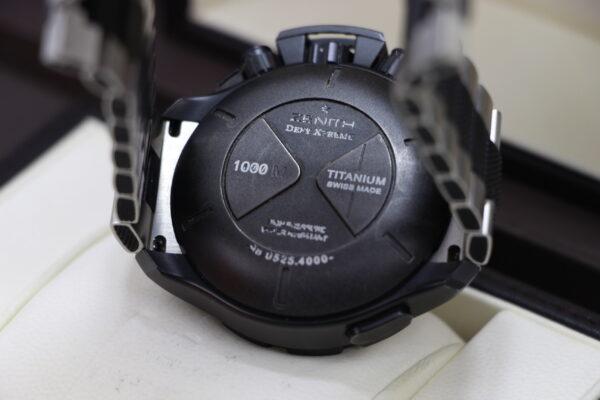 Zenith Defy Xtreme Chronograph Noir