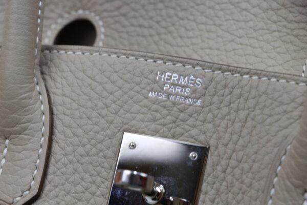 Hermes Birkin 30 gris