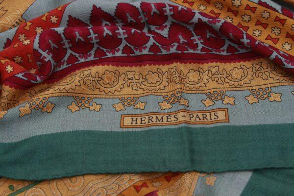 Hermes Châle 133X130, Cachemire