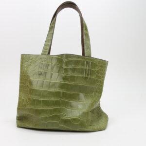 Hermès double sens vert