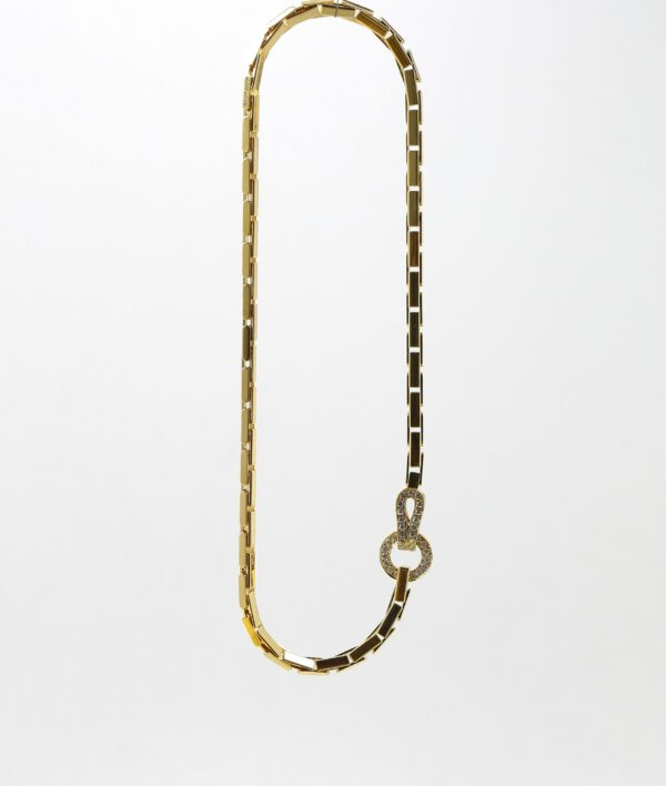 Collier Cartier Agrafe en or jaune - Doré