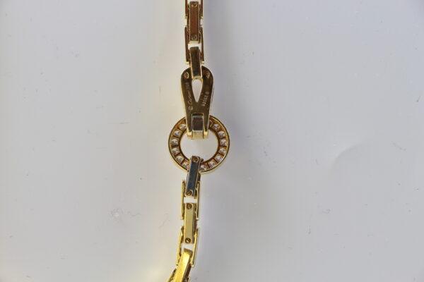 Bracelet Cartier Agrafe en or jaune et diamants