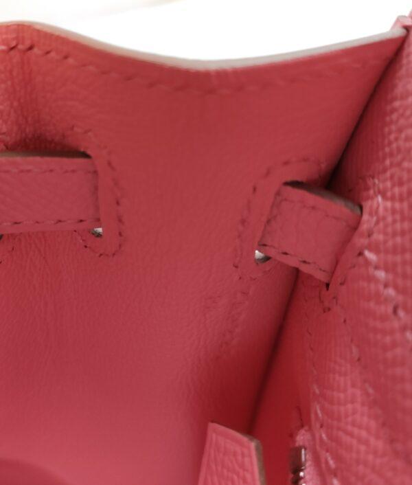 Hermes Kelly 25 sellier Epsom Rose confettis