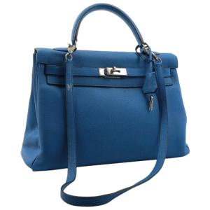Hermes Kelly 35 Bleu Zanzibar