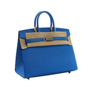 Hermes Birkin 25 Bleu Zanzibar